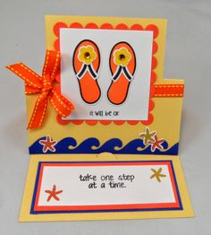 #The Stamps of Life, #Sizzix Stand up Card, #Fun Fold Card