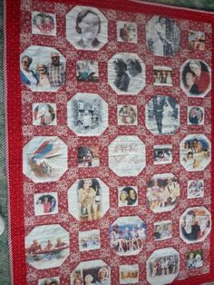 Memory quilt - 100th birthday