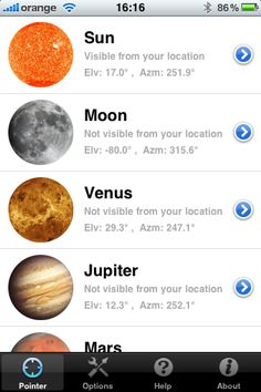 Star & Planet Finder