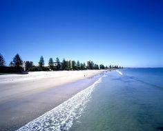 Beautiful beaches in Glenelg, Adelaide