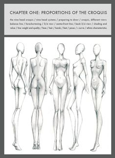 9 Heads (4th Edition) by Nancy Drawing technique.