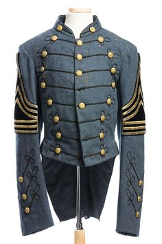 Citadel uniform coat, 1886 by Charleston Museum, via Flickr