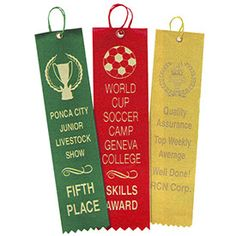 science fair ribbons