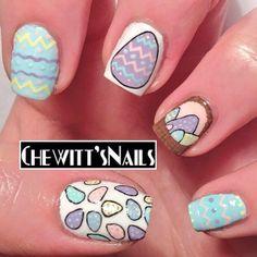 chewittsnails easter #nail #nails #nailart