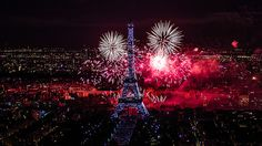 Heck yes. Fire works at the Eiffel Tower on Bastille Day