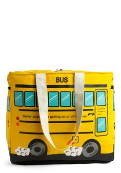what is funny about this is that my very first bookbag for school was a school bus.