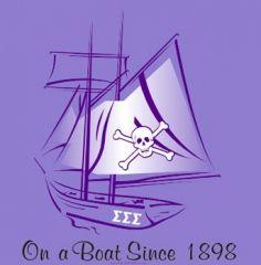trisigma, sigmasigmasigma, t shirt designs, t shirts, boat