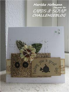 Cards en Scrap Challengeblog: Spreuk van de week