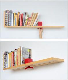 Brilliant - adjustable book shelf