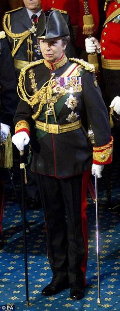 Princess Anne, the Princess Royal, Colonel of the Blues and Royals