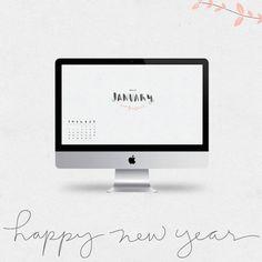 januari 2014, fui portfolio, free printabl, 2014 calendar