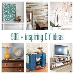 900 + inspiring DIY ideas