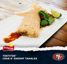 The San Francisco 49ers and Crab N' Shrimp Tamales are a match made in tailgating heaven! Enter our Fire Up for Football Sweeps for a chance to win a trip to the 2014 Pro Bowl in Hawaii http://contests.piqora.com/fritolay #FritoLayGameDay.  Official sweepstakes rules here: http://contests.piqora.com/contests/contest/content/fritolay.com/376/rules