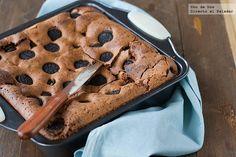 Brownie de galletas Oreo. Receta