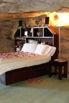 in a cave? yes please! This might be do-able!! place, kokopelli cave