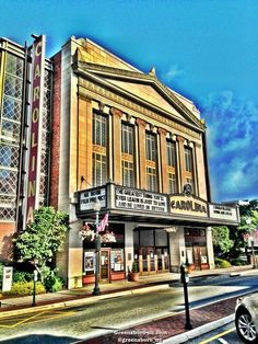 Carolina Theatre Greensboro, North Carolina NC Performing Arts North Carolina Performing Arts Center Greensboro, NC
