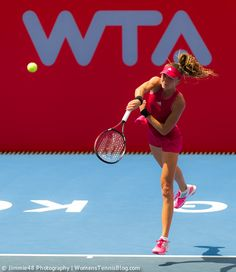 Hantuchova called the Hong Kong heat the worst conditions she has ever played tennis under, quite a statement considering that the 31 year-old has been on the WTA tour for more than 12 years now!  http://www.womenstennisblog.com/2014/09/10/star-players-advance-hong-kong-tennis-open-highlights/