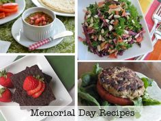 Memorial Day recipes for your cookouts on SimplySugarAndGlutenFree.com