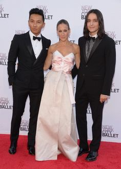 Prabal Gurung and Olivier Theyskens Collaborated on a Dress, But Only Sarah Jessica Parker Gets to Wear It . . .