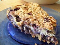 Blueberry Buckle Pie (6 WeightWatcher's PP)