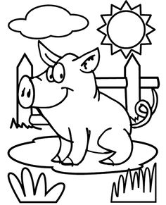 Flying pig coloring pages kids coloring pages pinterest for Flying pig coloring pages