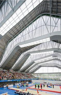 Escenarios deportivos. Coliseos para los Juegos Suramericanos de Medellín 2010, en Medellín, Colombia. Juan Felipe Mesa Rico (Plan B. Arquitectos) Giancarlo Mazzanti (Mazzanti Arquitectos)