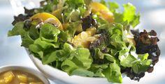 Ensalada con Salsa de Mango y Durazno #CuidarseEsDisfrutar