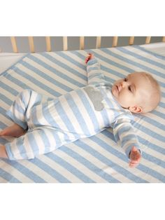 £32.25 Bonnie baby London Cotton Babysuit onesie with knitted applique Cloud- BREE