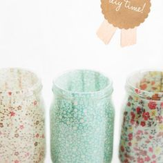 for mason jars or baby food jars
