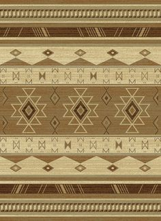 Chana Garden Southwest Wind Linen Brown Beige Taupe Stripe Southwestern Area Rug - United Weavers | Rugs by SelectRugs.com $48.80