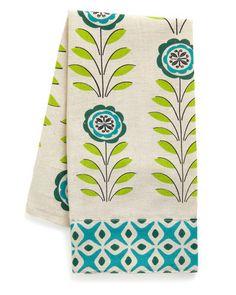 cute printed hand towel