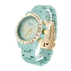 Very pretty teal women's watch! $17.95    LOVEEE this website!