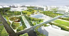 diller scofidio + renfro & hood design: national mall - union square proposal