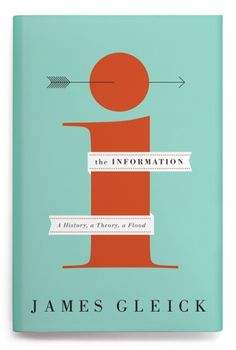 The Information #Book #Design #Cover