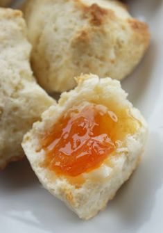 Cream Scones with Grapefruit Marmalade - Dinner With Julie