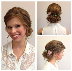 Oh hey it's me! Inspiration | Braided Updos   Hairstyles