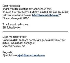 Please change my email address…