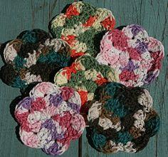 Vallieskids: Tiny Flower Scrubbie