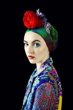 Mary Katrantzou S/S 2012 Look Book