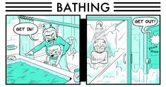 Life as it happens, then and now bathing, colleg humor, colleges, news, funni, collegehumor articl, childhood, college humor, funny memes