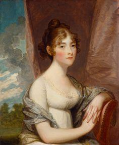 Ann Barry, 1803/1805 by Stuart, Gilbert (painter, American, 1755 - 1828). National Gallery of Art 1954.9.3