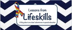 My new blog about life in a self-contained special education classroom :)