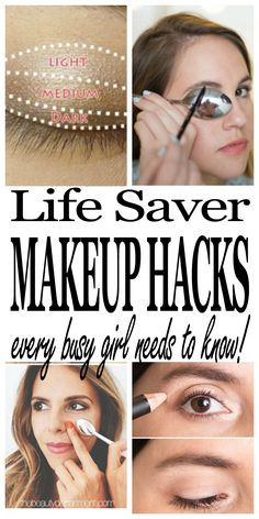 Makeup hacks for bus