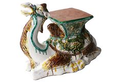 Camel  Garden Stool on OneKingsLane.com