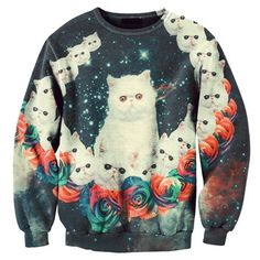 Kittens! Sweater Unisex, $69, now featured on Fab. by Aloha From Deer