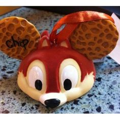 Disney Chip and Dale Mickey Mouse Ears Hat Limited Edition Ornament