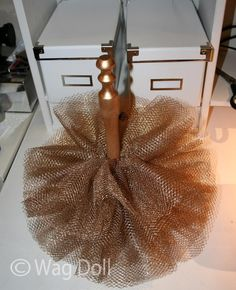 tulle christmas tree tutorial