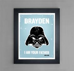Star Wars  I Am Your Father  Personalized by mytinytotcreative, $15.00