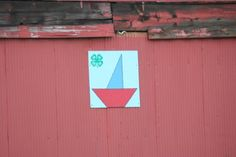 Sailboat barn quilt