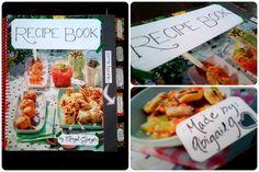 diy recipe book or cookbook